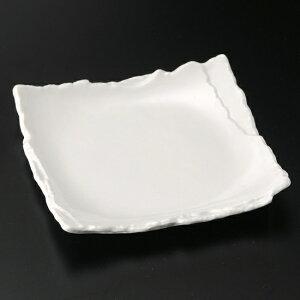 白マット重ね5.0角皿 和食器 フルーツ皿・銘々皿・取皿 業務用 約16cm 和食 和風 プレート フルーツ デザート 和菓子 甘味 ケーキ 和テイスト 定番 取り皿