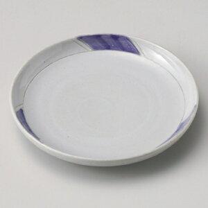 紫式部6寸皿 和食器 フルーツ皿・銘々皿・取皿 業務用 約19.5cm 和食 和風 プレート フルーツ デザート 和菓子 甘味 ケーキ 和テイスト 定番 取り皿