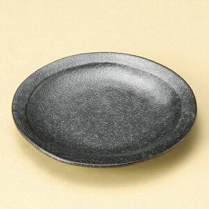 銀黒丸々取皿 大 和食器 フルーツ皿・銘々皿・取皿 業務用 約15.5cm 和食 和風 プレート フルーツ デザート 和菓子 甘味 ケーキ 和テイスト 定番 取り皿
