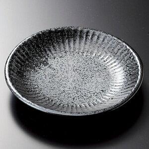 ソギいぶし黒中皿 和食器 フルーツ皿・銘々皿・取皿 業務用 約15.5cm 和食 和風 プレート フルーツ デザート 和菓子 甘味 ケーキ 和テイスト 定番 取り皿
