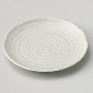 吉祥粉引5.0皿 和食器 フルーツ皿・銘々皿・取皿 業務用 約16.3cm 和食 和風 プレート フルーツ デザート 和菓子 甘味 ケーキ 和テイスト 定番 取り皿