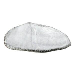 白刷毛目 三方皿 小 和食器 フルーツ皿・銘々皿・取皿 業務用 約16cm 和食 和風 プレート フルーツ デザート 和菓子 甘味 ケーキ 和テイスト 定番 取り皿
