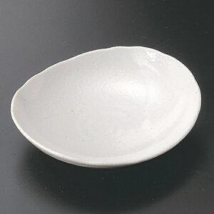 白楕円皿 小 和食器 フルーツ皿・銘々皿・取皿 業務用 約13.2cm 和食 和風 プレート フルーツ デザート 和菓子 甘味 ケーキ 和テイスト 定番 取り皿