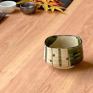 夢織部抹茶 化 和食器 抹茶碗 業務用 約11.3×7.7cm ぜんざい 茶道教室 茶道 おしゃれ 和テイスト