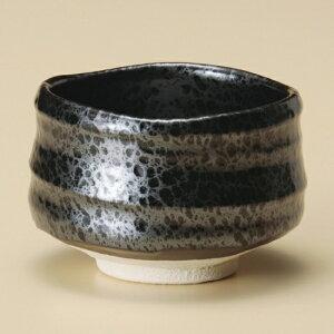 油滴抹茶碗 和食器 抹茶碗 業務用 約12×8cm ぜんざい 茶道教室 茶道 おしゃれ 和テイスト