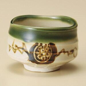 抹茶織部 和食器 抹茶碗 業務用 約11×8cm ぜんざい 茶道教室 茶道 おしゃれ 和テイスト