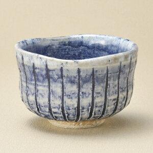 青均窯削十草彩碗 和食器 抹茶碗 業務用 約11.3×7.2cm ぜんざい 茶道教室 茶道 おしゃれ 和テイスト