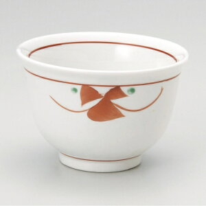 赤紅小花汲出 和食器 煎茶 業務用 約9×6cm 和食 和風 和菓子屋 和カフェ 食堂 定食屋 うどん屋 蕎麦屋