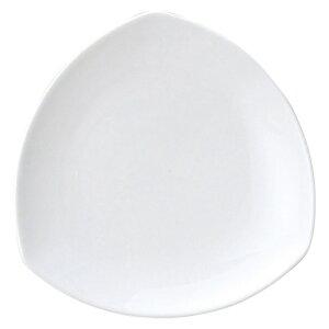 AngelWhite トライアングルプレート 小 洋食器 楕円・変形プレート 15cm〜20cm 業務用 約17.5cm サラダ コーヒー屋 珈琲屋
