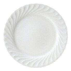 ニューウェーブ 10インチディナー 白い器 洋食器 丸型プレート 25cm〜30cm 業務用 カネスズ 約26.2cm 肉料理 魚料理 主菜 メイン料理 パスタ 結婚式場 創作料理 コース料理