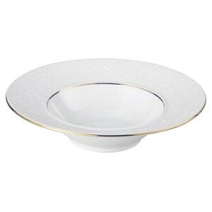 バロック ゴールドライン26.5cmディープスープ 洋食器 丸型プレート 25cm〜30cm 業務用 約26.5cm 洋食 リゾット デザート 前菜 コース料理 洋食レストラン ホテル
