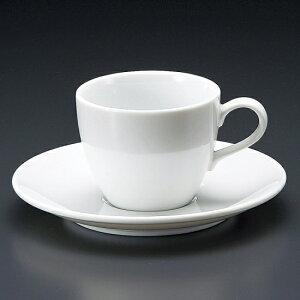 白磁セリカコーヒー碗皿 洋食器 カップ&ソーサー コーヒー 業務用 喫茶店 珈琲屋 カフェ ケーキ屋 花柄 シンプル パン屋 ベーカリーカフェ