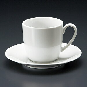 ニースアメリカン碗皿 洋食器 カップ&ソーサー アメリカン 業務用 ライトコーヒー シンプル ケーキ屋 ベーカリーカフェ イタリアンレストラン フレンチレストラン
