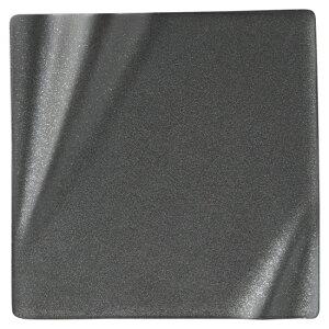 海皇 かいこう 黒17.5cmスクエアプレート 黒い器 洋食器 正角プレート(S) 業務用 約17.5cm マリネ 皿 四角 中皿 シンプル おしゃれ モダン カフェ レストラン ホテル ケーキ皿 デザート皿 パン