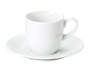 MKホワイト コーヒー碗皿 洋食器 カップ&ソーサー コーヒー 業務用 喫茶店 珈琲屋 カフェ ケーキ屋 花柄 シンプル パン屋 ベーカリーカフェ
