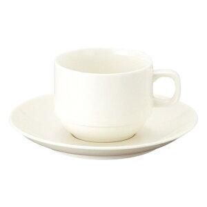 新型ベーシック スタックコーヒー碗皿 洋食器 カップ&ソーサー コーヒー 業務用 喫茶店 珈琲屋 カフェ ケーキ屋 花柄 シンプル パン屋 ベーカリーカフェ