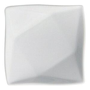 白磁15cm折紙プレート 白い器 洋食器 正角プレート(S) 業務用 約16.1cm マリネ デザート 前菜 皿 四角 中皿 シンプル おしゃれ モダン カフェ レストラン ホテル ケーキ皿 デザート皿 パン皿