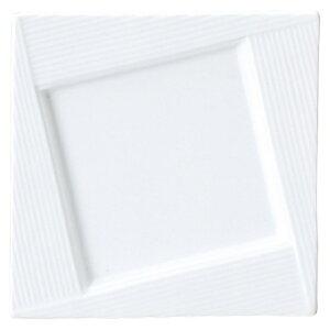 ブランシェ3 白FUJI16プレート 白い器 洋食器 正角プレート(S) 業務用 約16cm マリネ デザート 皿 四角 中皿 シンプル おしゃれ モダン カフェ レストラン ホテル ケーキ皿 デザート皿 パン皿