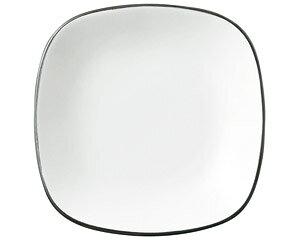COLORE コローレ ホワイトスクエアプレート S 白い器 洋食器 正角プレート(S) 業務用 約16.5cm 皿 四角 中皿 シンプル おしゃれ モダン カフェ レストラン ホテル ケーキ皿 デザート皿 パン皿