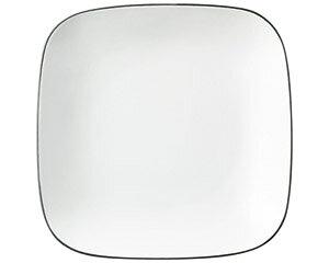 COLORE コローレ ホワイトスクエアプレート M 白い器 洋食器 正角プレート(S) 業務用 約19.5cm 皿 四角 中皿 シンプル おしゃれ モダン カフェ レストラン ホテル ケーキ皿 デザート皿 パン皿