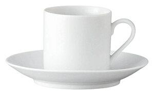 ノーブルホワイト コーヒー碗 洋食器 カップ&ソーサー コーヒー 業務用 カネスズ 喫茶店 珈琲屋 ケーキ屋 フレンチレストラン ベーカリーカフェ 洋風