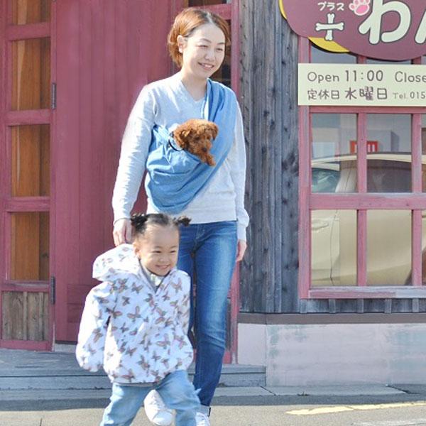 犬 キャリー【ドッグスリング】【7色×5サイズ】【厚手コットン】犬 抱っこひも スリング ペット・ペットグッズ・犬用品・キャリーバッグ・カート・スリング