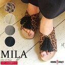 【最大50%OFF】【ミネトンカ 公式】MINNETONKA ミネトンカ 靴 レディース シューズ サンダル MILA フラット タッセル…