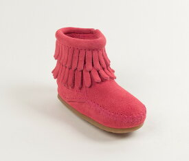 【SALE】 【ミネトンカ 公式】 MINNETONKADOUBLE FRINGE SIDE ZIP BOOTIE