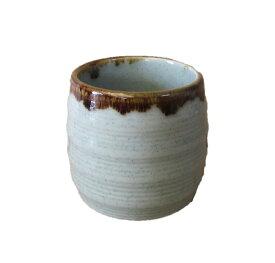 湯呑 小さめ 小 汲み出し 来客 湯のみ 日本製 磁器 おしゃれ かわいい 渋草 青磁 飴釉 流し