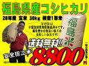 福島県産 コシヒカリ 玄米 30kg 検査1等米 平成28年産 お米 精米無料 送料無料【smtb-td】【saitama】【HLS_DU】【…