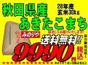 28年産 秋田県産 あきたこまち 玄米 30kg 検査一等米お米  精米無料 送料無料   【smtb-TD】【saitama】【あす楽_…
