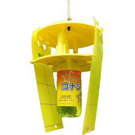【送料無料】活性式コナジラミ予察捕虫器 コナジラミキャッチャー(10台入り)害虫 粘着シート(ホリバー 黄色×20枚)付き CKZ-100 みのる産業