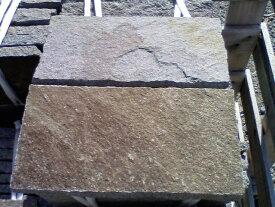 乱形石材乱貼用敷石諏訪鉄平石 150x300方形石材敷石庭・アプローチ・ガーデン