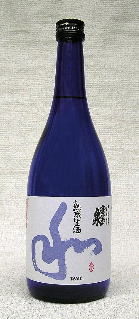 【蔵元値上げ】【2018年2月以降蔵出分】蓬莱泉 純米吟醸 和 熟成生酒720ml