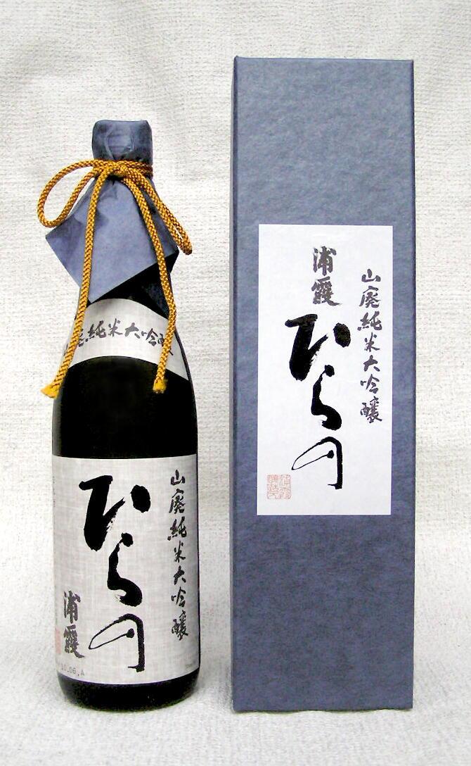 【平成30年6月入荷商品】浦霞 山廃純米大吟醸ひらの 28BY 720ml