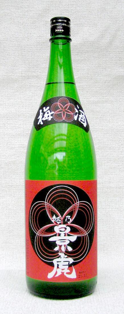 【送料割引対象外商品】【平成30年10月以降入荷分】越乃景虎 梅酒 1800ml