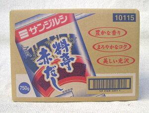 送料500円引きサンジルシ 料亭赤だし 750g1ケース(12個)