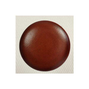 本革レザーボタン (AXP5733-1)21mm 茶色 ハンドメイド(手作り、手芸、釦付け替え)に