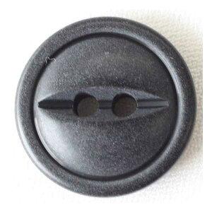 ミリタリーボタン(BDU003-09)15mm 黒 手作り、手芸、釦付け替え)に