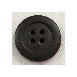 本革レザーボタン(SP41-4)18mm 手作り、手芸、釦付け替え)に