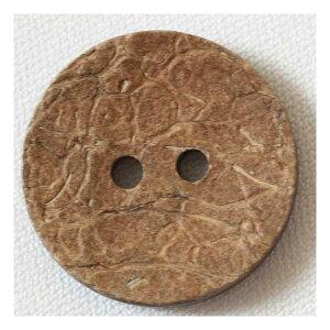 木(ウッド)ボタン TIP12 18mm 1個入 ハンドメイド(手作り、手芸、釦付け替え)に