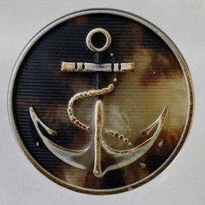 ハンドメイド(手作り、手芸、釦付け替え)に プラスチックボタン(CHB2-35)25mm