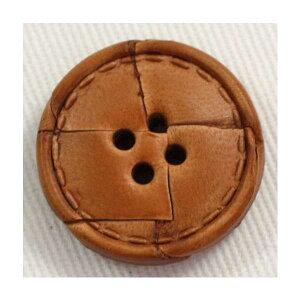 本革レザーボタン(NO1500-1)15mm 手作り、手芸、釦付け替え)に
