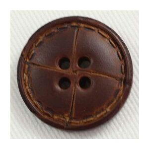本革レザーボタン(NO1500-3)15mm 手作り、手芸、釦付け替え)に