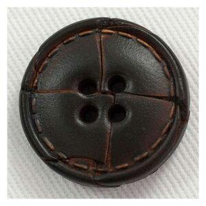 本革レザーボタン(NO1500-4)15mm 手作り、手芸、釦付け替え)に
