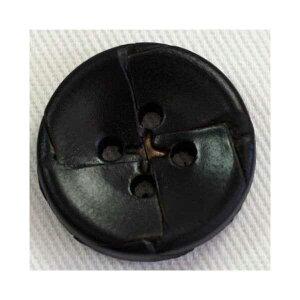 本革レザーボタン(NO2200-5)15mm 手作り、手芸、釦付け替え)に