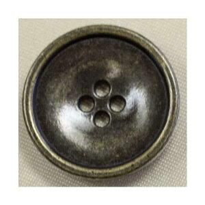 高級メタルボタン(DM2197F-AG)18mm ハンドメイド(手作り、手芸、釦付け替え)に