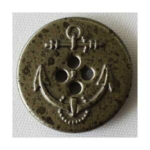 メタルボタン(MA2267F-ARC)18mm ハンドメイド(手作り、手芸、釦付け替え)に