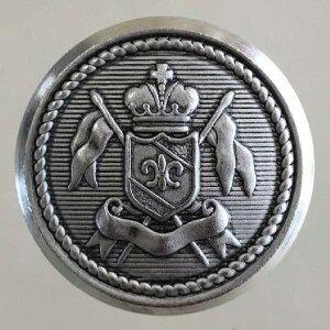 ハンドメイド(手作り、手芸、釦付け替え)に 高級メタルボタン(FM116-NSU)21mm