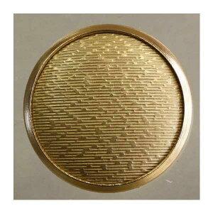 高級メタルボタン(FM93-HGG)15mm ハンドメイド(手作り、手芸、釦付け替え)に